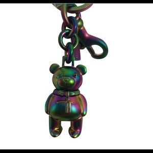 Coach 3D Bear Bag Charm Keychain